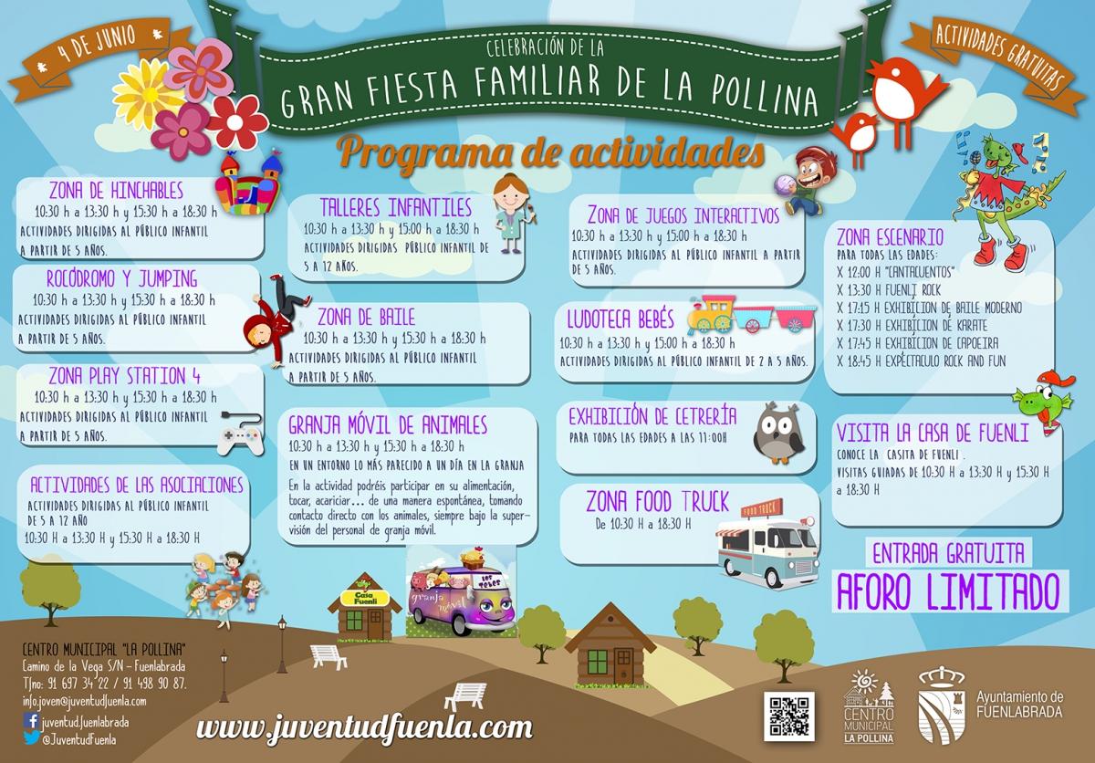 Fiesta familiar en La Pollina, Fuenlabrada