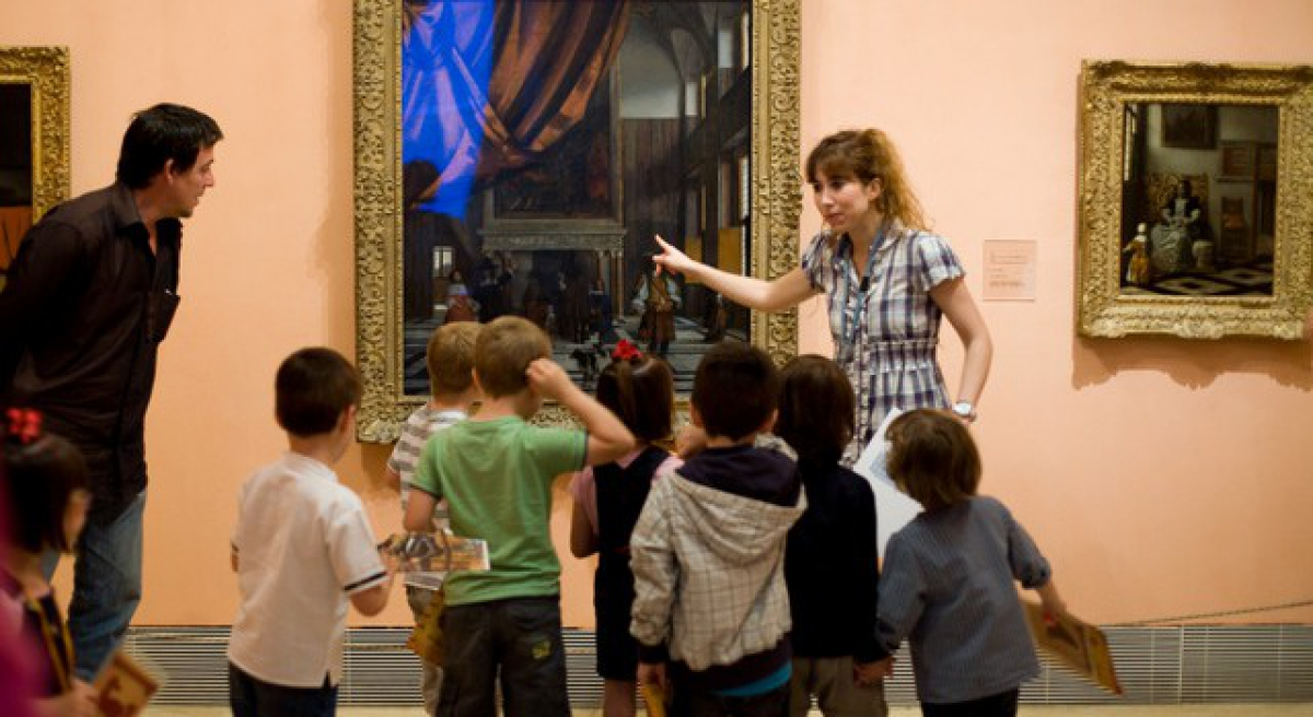 Visitas Taller para Familias en el Museo Thyssen-Bornemisza