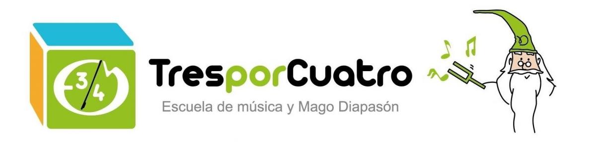 Escuela de música 3x4